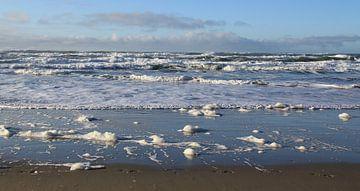 Texels strand van Jose Lok