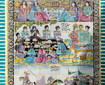 Iran: Tekyeh Moaven al-molk (Kermanshah) van Maarten Verhees