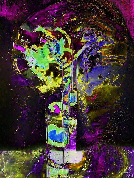 Cosmos abstract van Gabi Hampe