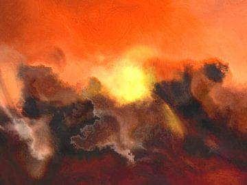 Abstrakte Kunst - Abstrakte Komposition 13 von Alexandra Kleist