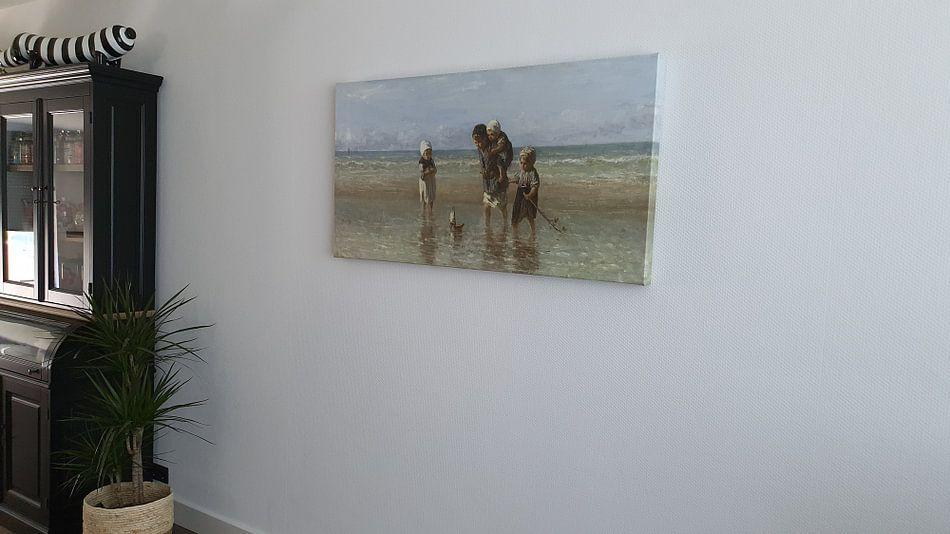 Klantfoto: Kinderen der Zee, Jozef Israëls