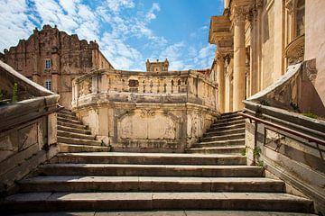 Escaliers des Jésuites, Marche de la honte sur Antwan Janssen