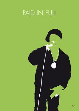No136 MY EricBandRakim Minimal Music poster van Chungkong Art