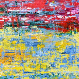 Confetti, modern abstract van