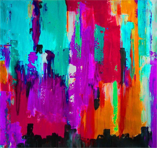Bright Lights 3  van Emma Ball