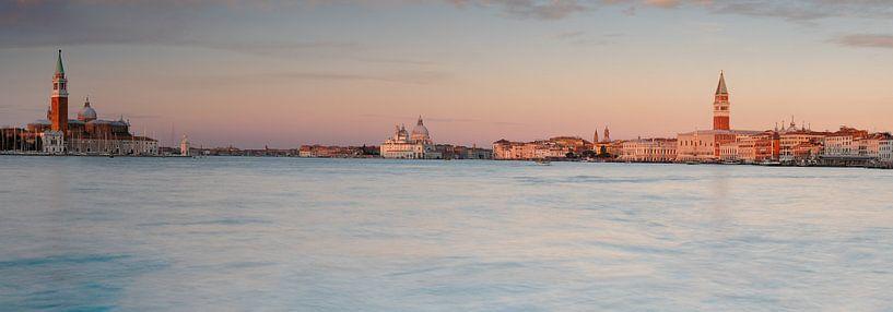 Morgenstimmung in Venedig Panorama von Andreas Müller