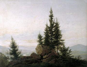 Caspar David Friedrich. Landscape sur