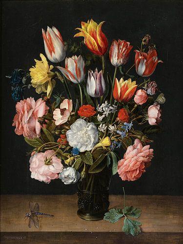 Jacob van Walscapelle, Stilleven met Bloemen van