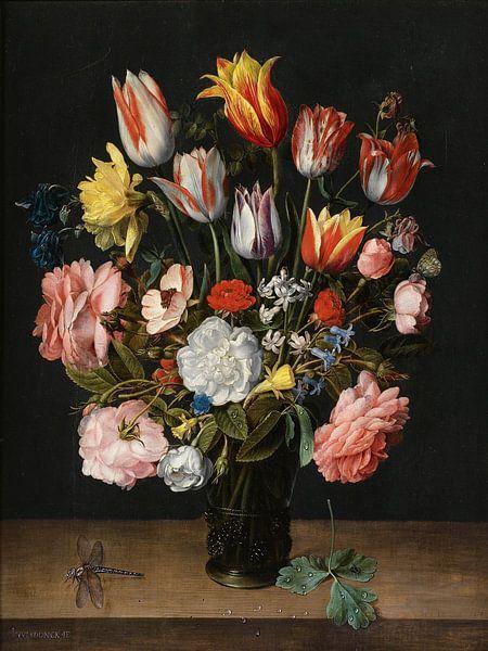 Jacob van Walscapelle, Stilleven met Bloemen van Meesterlijcke Meesters