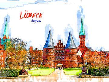 Lübeck von Printed Artings