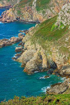 Guernsey Cliffs van Gisela Scheffbuch
