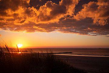 Sonnenuntergang von Nele Buyse