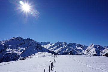 Oostenrijkse berglucht van Femke Looman