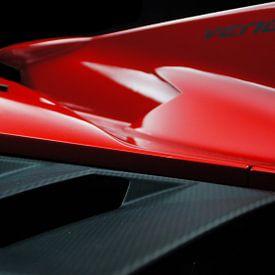 Lamborghini Veneno   Rotes Superauto von Jesse Barendregt