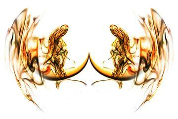 Rook fantasie 3 van Helma Tielemans