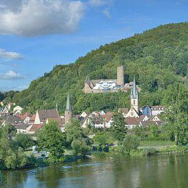 Gemünden am Main,Spessart,Bayern,Deutschland von Peter Eckert