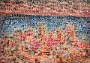 Paul Klee, Klippen am Meer, 1931