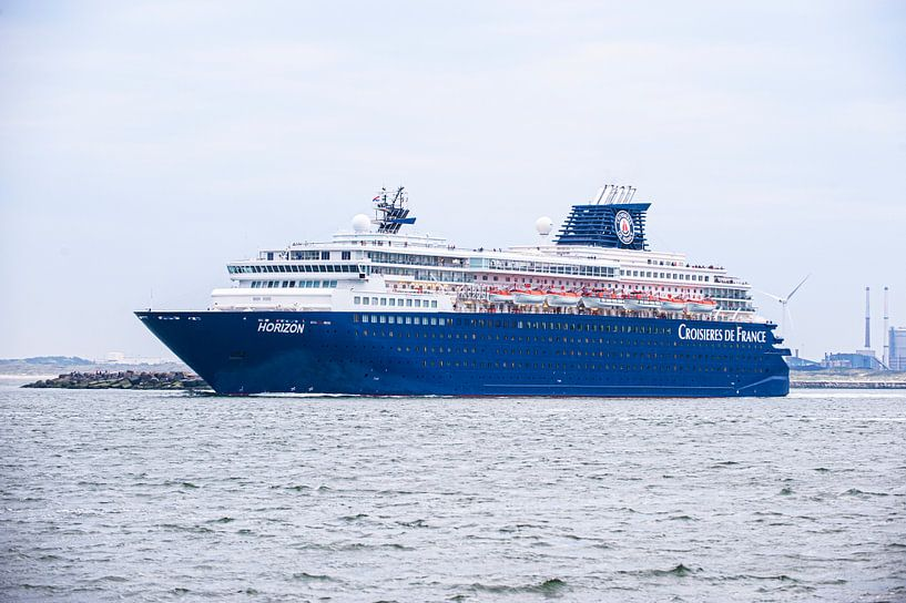 Cruiseship de Horizon. van Brian Morgan
