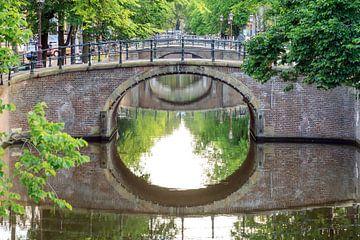 Reguliersgracht bruggen Amsterdam sur