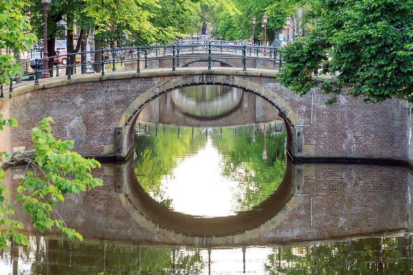 Reguliersgracht bruggen Amsterdam van Dennis van de Water