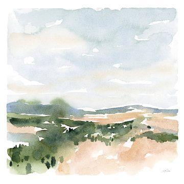Zacht landschap II, Katrina Pete van Wild Apple