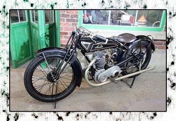 Motor van Frank Janssen