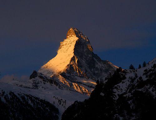 Goldenes Matterhorn von