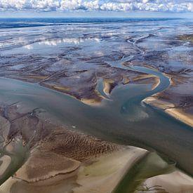 Wadden Sea at Schiermonnikoog sur Roel Ovinge