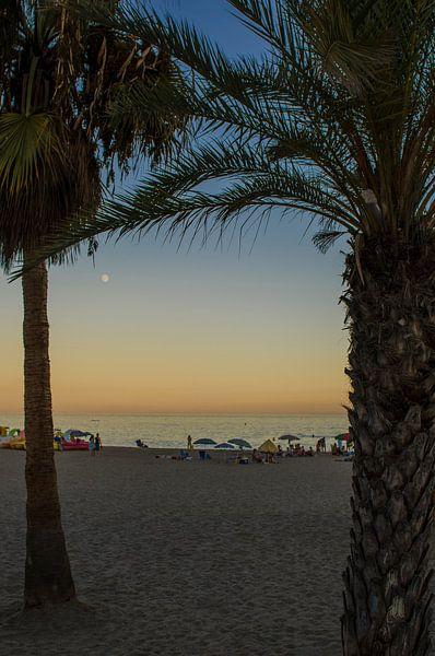 Zonsondergang in Spanje