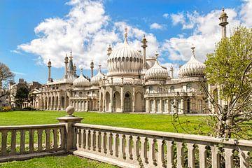 Royal Pavilion, Brighton, East Sussex, Engeland, Groot-Brittannië van Mieneke Andeweg-van Rijn