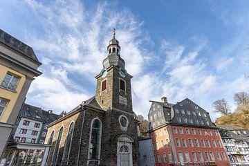 Evangelische Stadtkirche in Monschau in der Eifel von Reiner Conrad