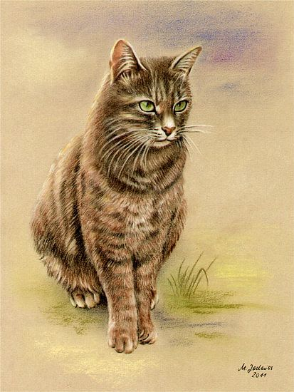 Hand Painted Cats Portret