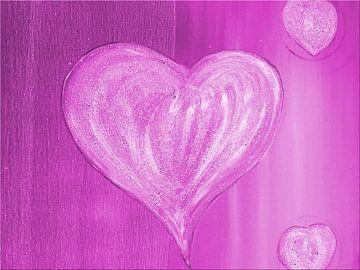 Herz lila sur Katrin Behr