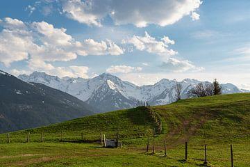 Hohe Tauern in het voorjaar richting Hollersbachtal van Daniel Kogler