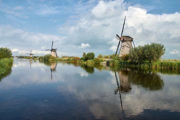 Werelderfgoed Kinderdijk molens van Ad Jekel