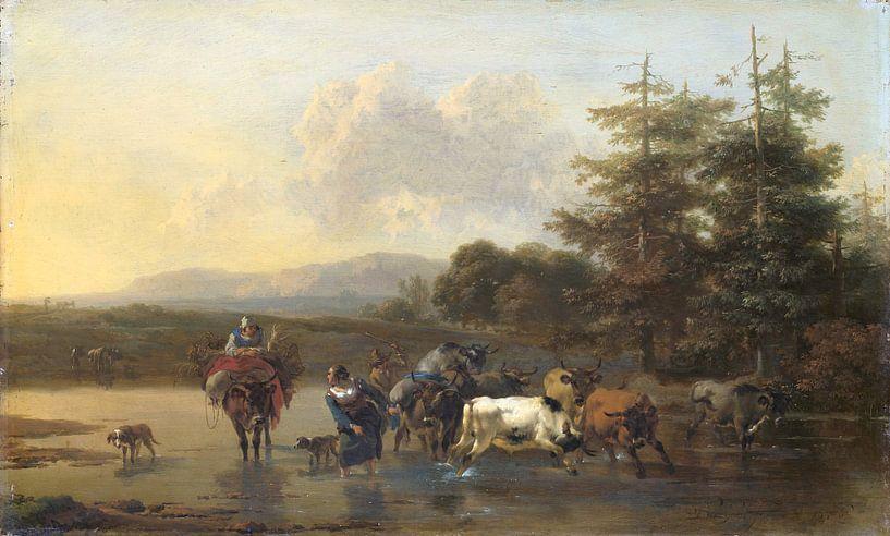 Der Oxdrift, Nicolaes Pietersz. Berchem von Marieke de Koning