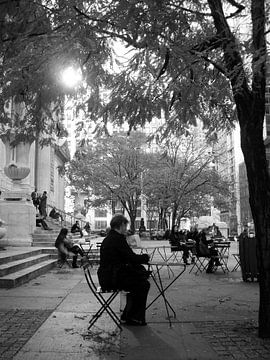 New York library von Hannie Bom