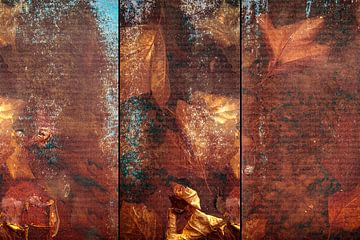 Triptychon-Blätter von Marijke de Leeuw - Gabriëlse