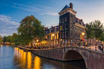 Amsterdam - Prinsengracht & Looiersgracht van Thomas van Galen