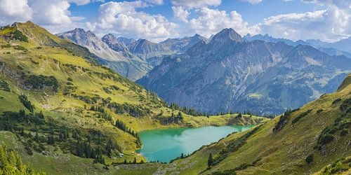 Seealpsee und Höfats, Allgäuer Alpen von
