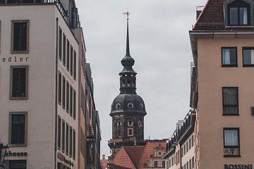 Blick durch Dresden von Marc-Sven Kirsch