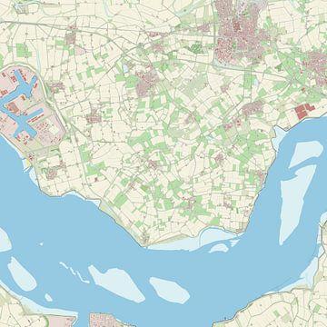 Kaart vanBorsele