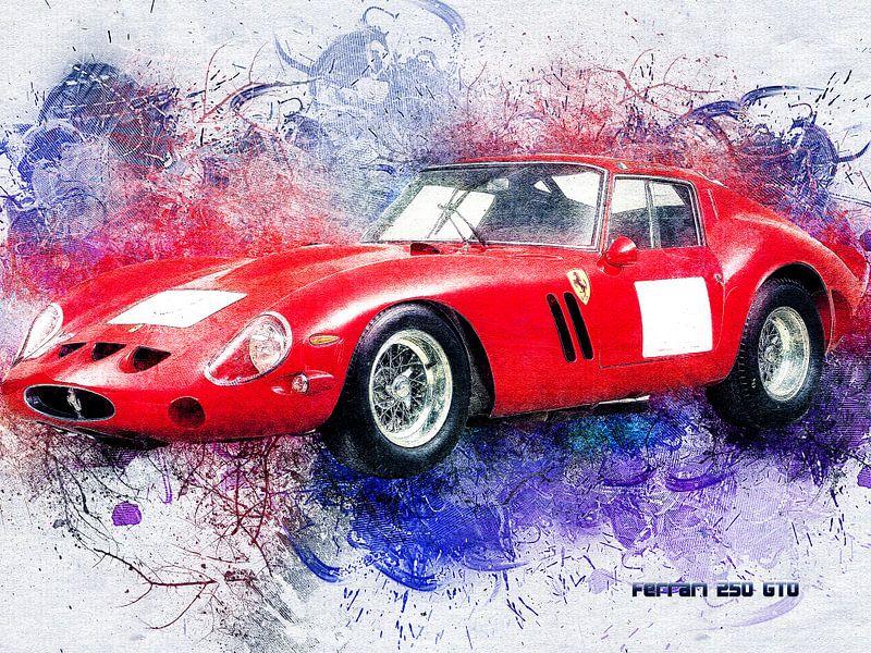 Ferrari von Printed Artings