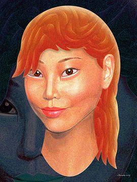 Oranje van Ton van Hummel (Alias HUVANTO)