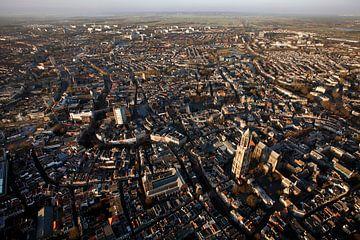 Utrecht vanuit de lucht van Mark Leeman