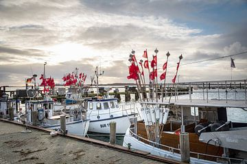 Bateau de pêche sur le Fehmarn sur Werner Reins
