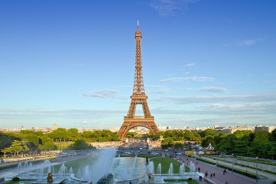 Eiffel Tower PARIS van Melanie Viola
