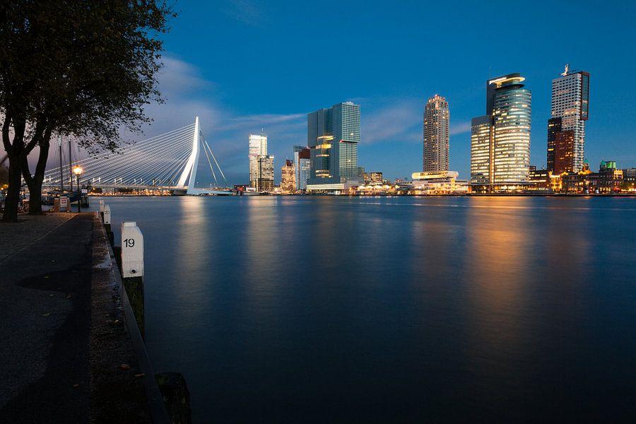 Rotterdam - Skyline aan de Maas van Martijn Smeets