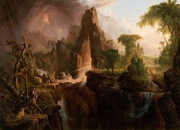 Vertreibung aus dem Garten Eden, Thomas Cole