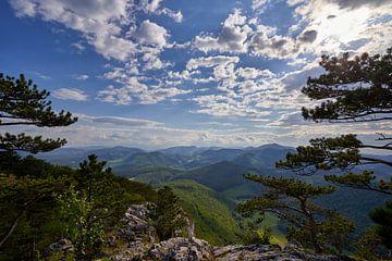Blick über sanfte Berglandschaft von WittholmPhotography